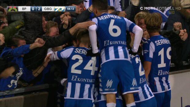 Vild glädje –när Wernersson gör 2-0
