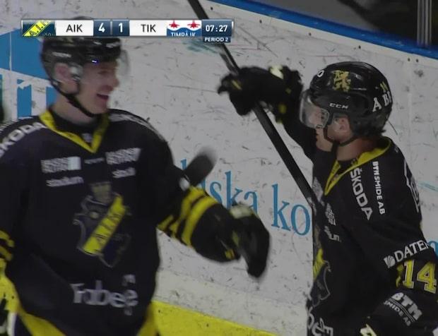AIK tappade tremålsledning – vann på straffar