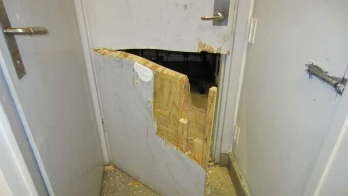 Under januari har flera skolor i Halland drabbats av inbrott. Foto: Polisen