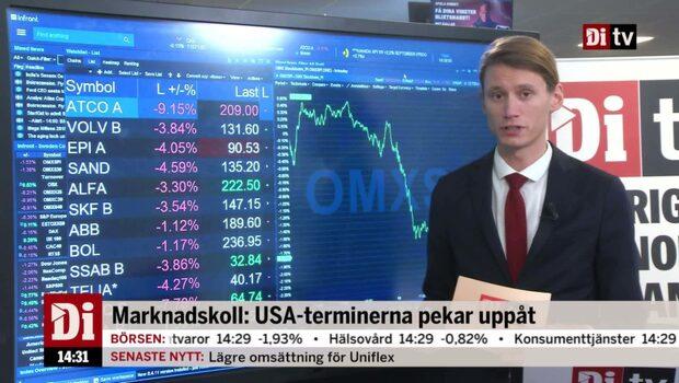 Marknadskoll: USA-terminerna pekar uppåt