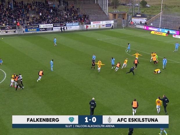 Höjdpunkter: Falkenberg slog AFC i bottenmötet - kvar i allsvenskan 2020