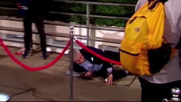 Mourinhos pinsamma entre – faller handlöst till marken