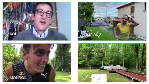Sekunddrama i Duplantis trädgård - värsta rivalerna tävlar under lockdown