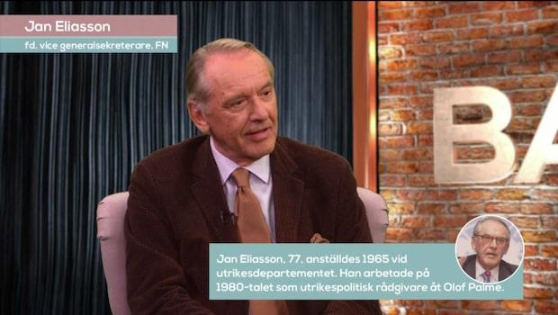 Bara politik: Se hela intervjun med Jan Eliasson