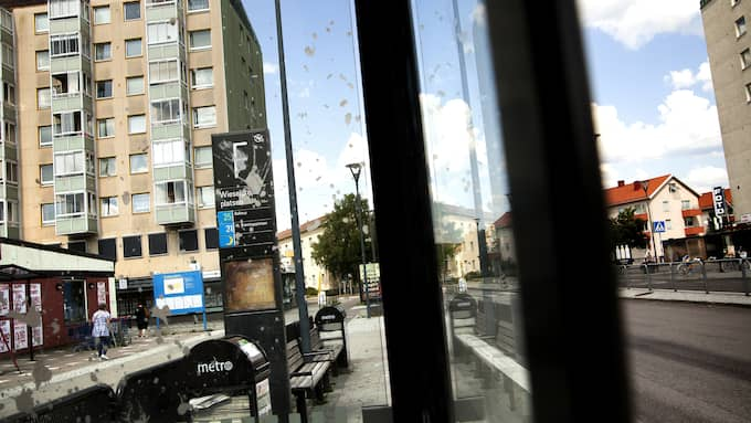 Vagnarna hade kunnat vända vid Wieselgrensplatsen. Foto: MARIA STEÉN / MARIA STEÉN GT/EXPRESSEN