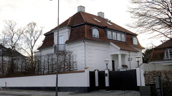 Villan på Svanemöllevej var en gåva från prins Joachim. Alexandra har nu beslutat sig för att sälja den. Foto: Emilia Olofsson
