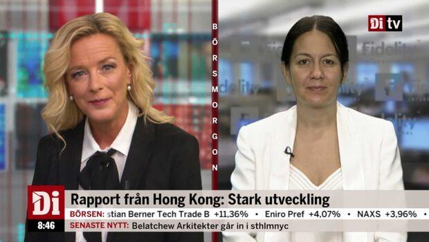 Yeung: Stark utveckling i Asien