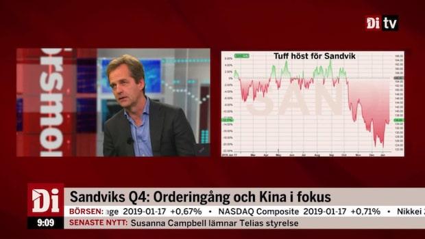 """Elgemyr om Sandvik: """"Jag tror att rapporten kommer in starkt"""""""