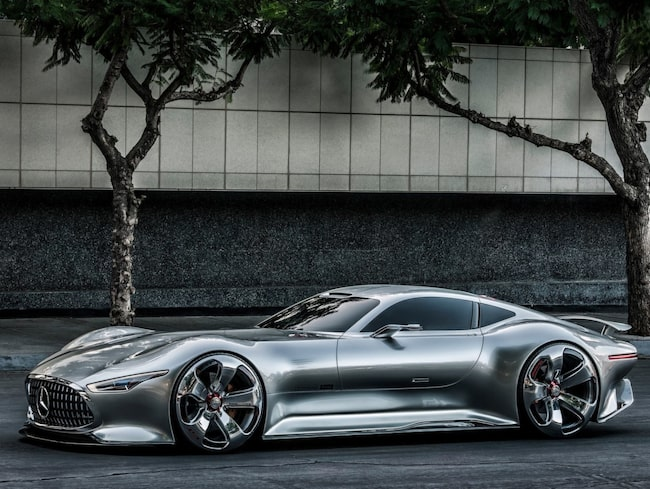 Mercedes-Benz AMG Vision Gran Turismo kanske kan ge ledtrådar till hur den nya hyperbilen ser ut.