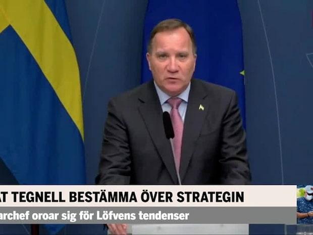 PM: Löfven undergräver Tegnells auktoritet