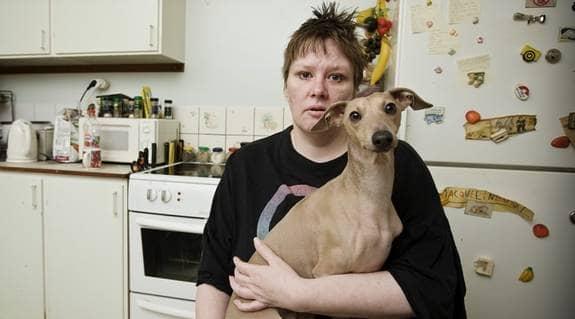Susanne Eriksson är dömd till ett års fängelse för att hon nyttjat cannabis mot sin svåra sjukdom. Foto: MIKAEL SJÖBERG