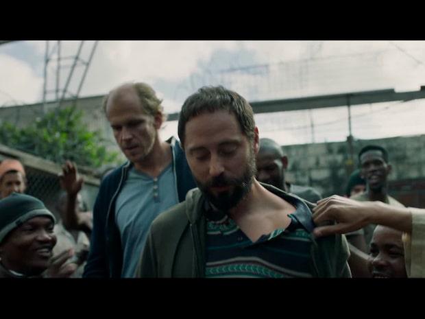 """Trailern till """"438 dagar"""" med Gustaf Skarsgård och Matias Varela"""