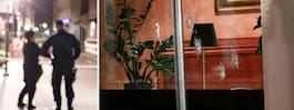 Misstänkt skottlossning  mot restaurang i Trelleborg