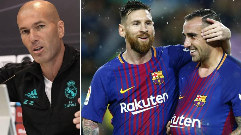 Barcelona och real rycker i toppen