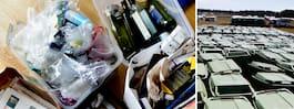 Hormonstörande gifter  i återvunna plastsaker