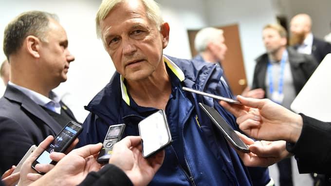 Landslagschefen Lars Richt. Foto: JONAS EKSTRÖMER/TT / TT NYHETSBYRÅN