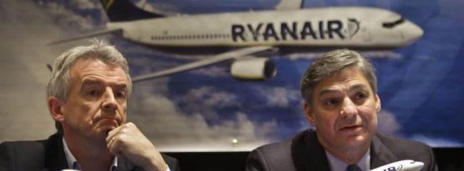 Ryanair planerar införa extra avgift för handbagage.