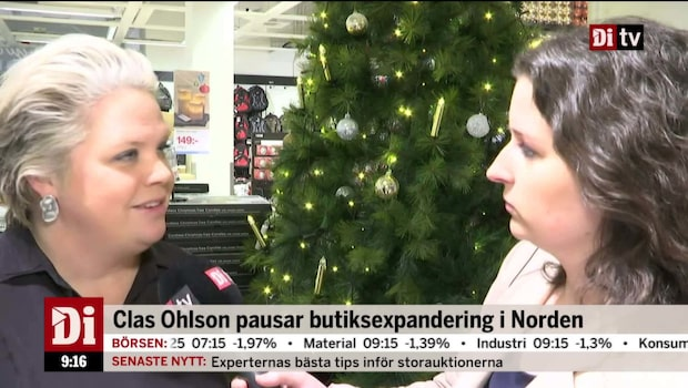 Clas Ohlsons vd Lotta Lyrå om företagets framtid