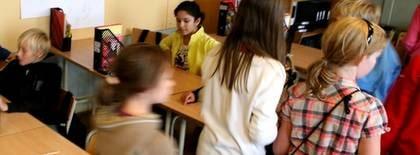 """Kjell-Arne Karlsson vill ha utsövda och väl förberedda barn till sina lektioner. """"Annars blir det stressade och mår dåligt"""", förklarar han."""