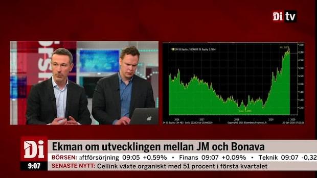 Aktiechefen om utvecklingen mellan JM och Bonava