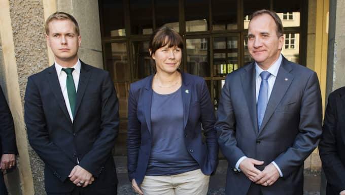 S och MP är överens om kärnkraften. Foto: Alexander Donka