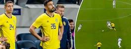 Sverige tappade efter  debutantens misstag