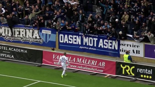 Inhopparen Nicklas Bärkroth faställde 2-0 till Djurgården
