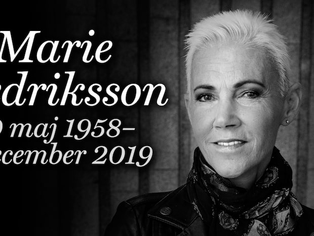 Marie Fredriksson har avlidit – blev 61 år gammal