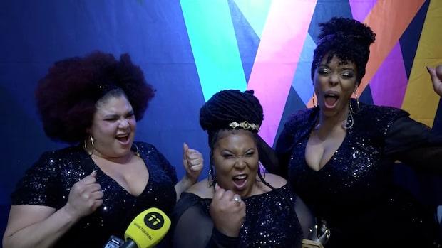 """The Mamas vinner Melodifestivalen: """"Största som hänt"""""""