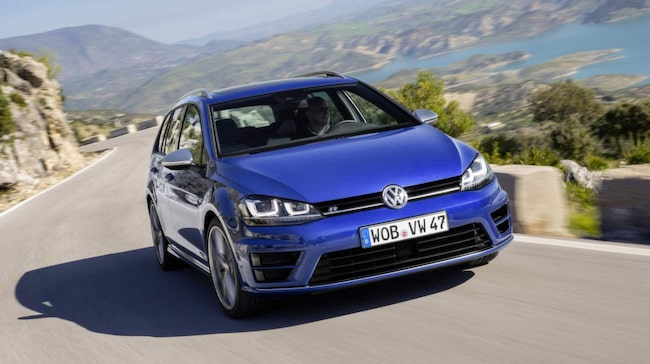 VW Golf Sportscombi R