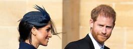 Meghan och maken prins Harry väntar barn