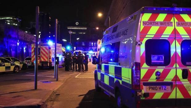"""Reaktionerna efter misstänkta terrordådet: """"Våra tankar är med de drabbade"""""""