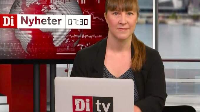 Malin Toverud programleder morgonens nyhetssvep.