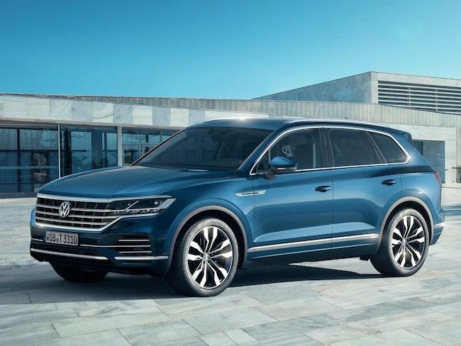 Nya Volkswagen Touareg är större än någonsin.