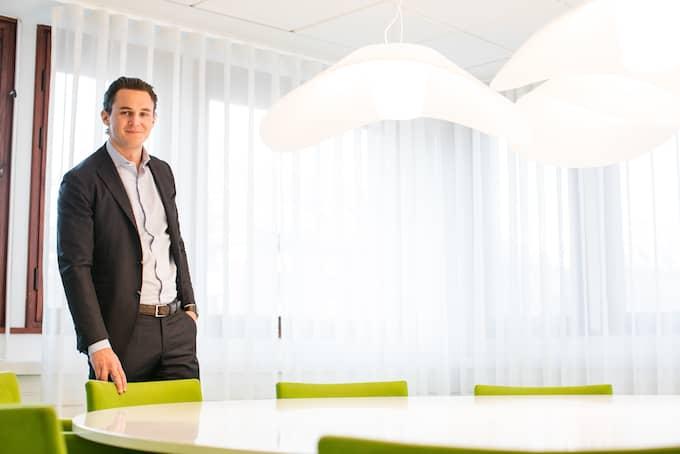 – Jag kommer att lägga min tid på att återskapa förtroendet för Allra och rentvå bolaget från de rykten och anklagelser som under våren spreds i media, sa Alexander Ernstberger till Svenska Dagbladet i somras. Foto: ALLRA