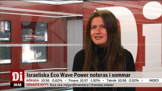Svensk position inom energi lockar Eco Wave Power