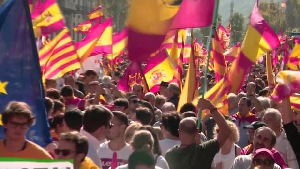 Spanska regeringens besked: Tar kontrollen över Katalonien