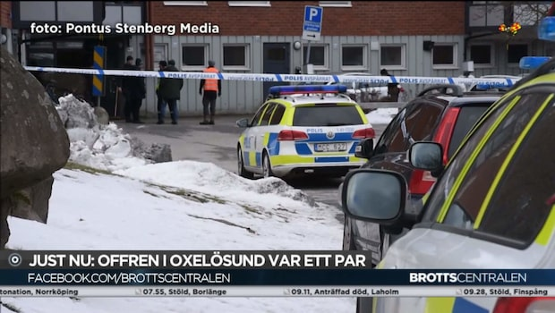 Polisen: Offren för knivdådet i Oxelösund var ett par