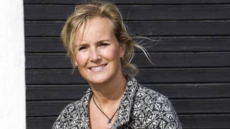 Annika Bergman har fem år i rad lånat ut sitt hem. I år har hon fått 800 meddelanden från utsatta kvinnor. Foto: Alexander von Sydow