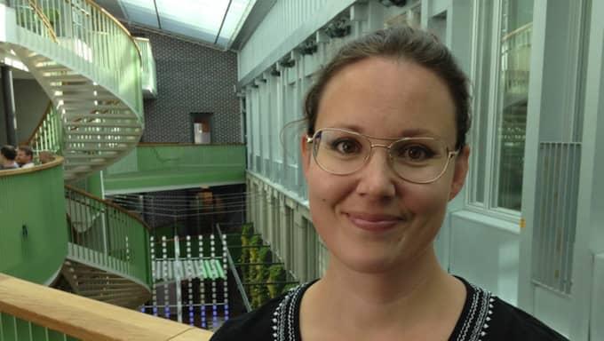 Tanja Strand är forskare vid Uppsala universitet och försöker just nu ta reda på om Malmös råttor bär på leptospirabakterien. Foto: Michelle Wille