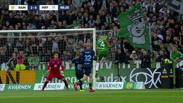Höjdpunkter: Hammarby-Malmö FF