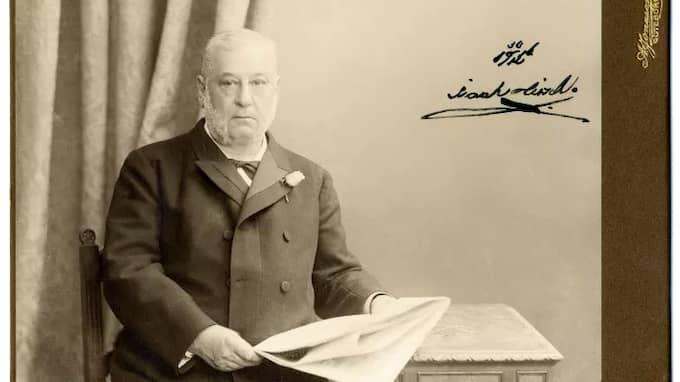 Byggherren och affärsmannen Isaak Hirsch.