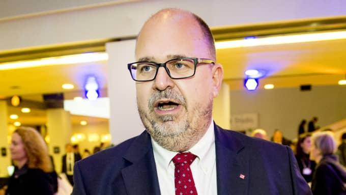 """""""Detta drabbar hela den svenska fackföreningsrörelsen, så klart. Förtroendet som vi bär på är alltid medlemmarnas, vi får det inte någon annanstans ifrån"""", säger LO-ordföranden Karl-Petter Thorwaldsson. Bilden är tagen vid ett tidigare tillfälle. Foto: Jens L'Estrade"""