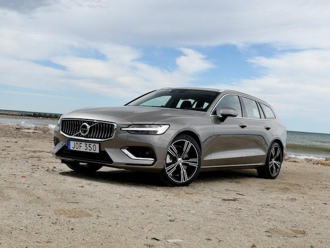 Det ser ljust ut för Volvo V60 – bäst sålda modellen i Sverige under januari.