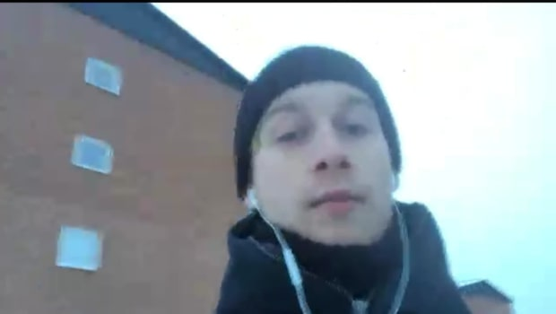 "Skidreportern Ludvig Holmberg: ""Det var kaos igår"""