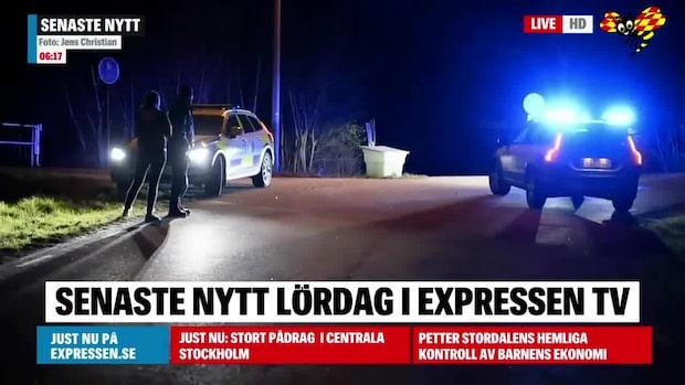 Nära anhörig till polis attackerad vid sitt hem