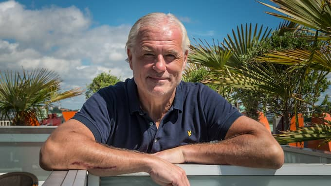 Glenn Hysén är huvudperson i Kanal 5:s kommande satsning. Foto: HANNA BRUNLÖF