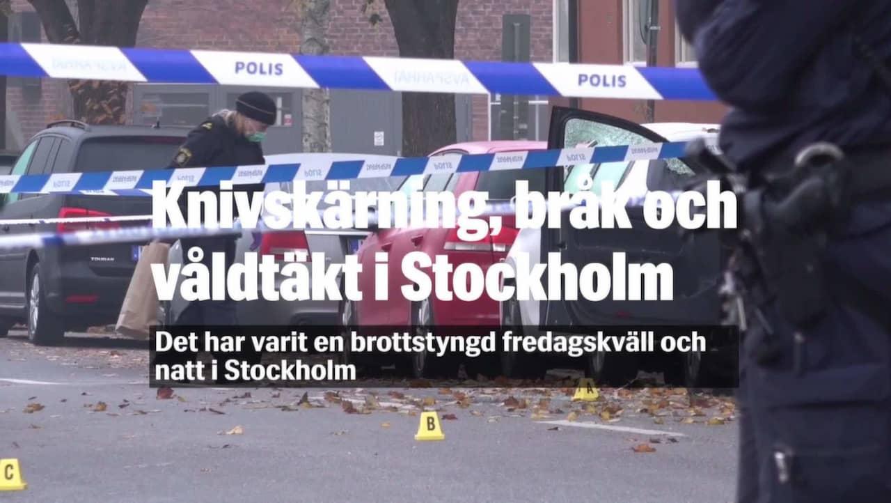 Valdsam natt i stockholm