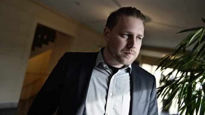 """""""Det är skrämmande att vi har fått en kultur i Sverige som gör att myndighetspersoner känner att de kan agera på det viset"""", säger Sverigedemokraternas gruppledare Mattias Karlsson. Foto: Mikael Sjöberg"""