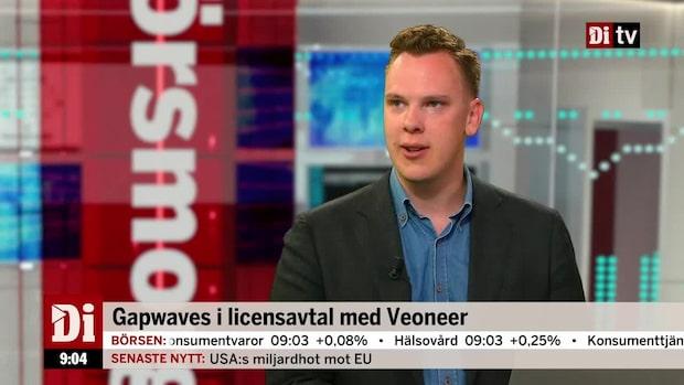 Gapwaves i licensavtal med Veoneer